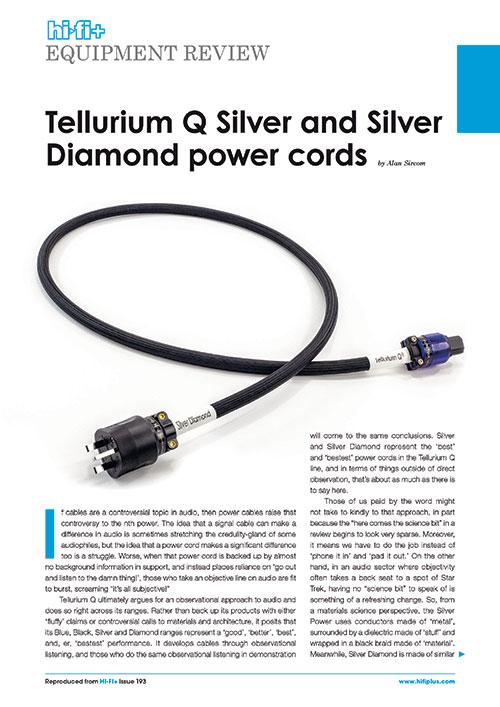 HiFi Plus Silver & Silver Diamond Power Review