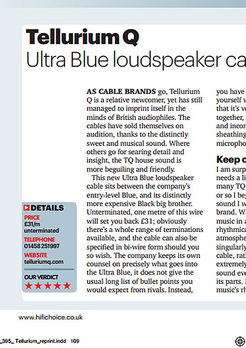 HiFi Choice Ultra Blue